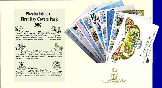 2007 FDC Annual Collection