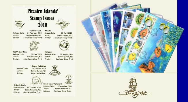 2010 FDC Annual Collection