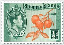 Historic Pitcairn Stamp