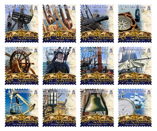 Bounty Definitive Stamps
