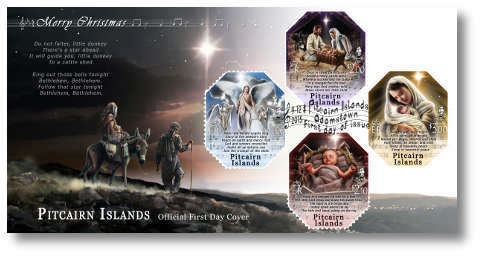 Christmas Carols FDC