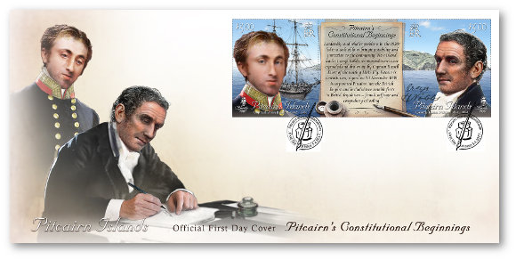 Pitcairn's Constitution FDC