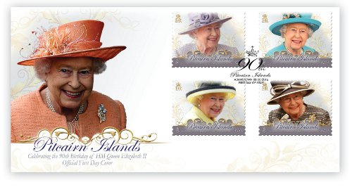 HM Queen Elizabeth II 90th Birthday FDC