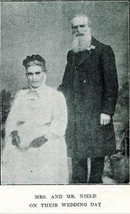 Rosalind Amelia Young wedding day
