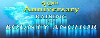 50th Anniversary of the raising of the Bounty anchor