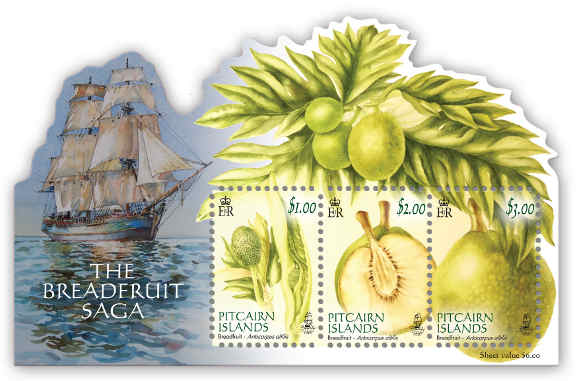 The Breadfruit Saga Mini Sheet
