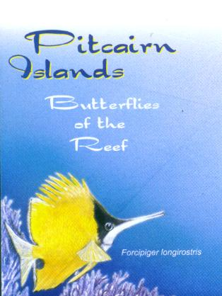 This image features on the Butterflies of the Reef FDC