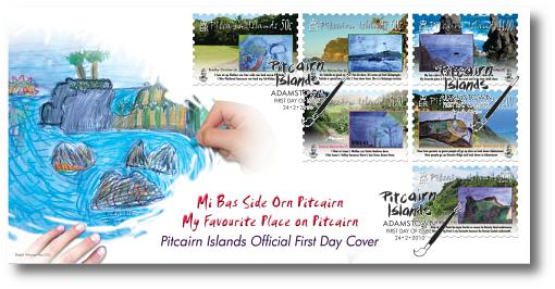 Children's Art FDC