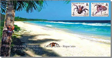 Coconut Crab FDC