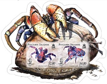 Coconut Crab Miniature sheet
