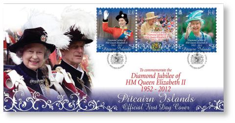 Diamond Jubilee of HM Queen Elizabeth II FDC