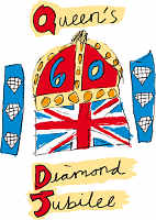 Diamond Jubilee of HM Queen Elizabeth II logo