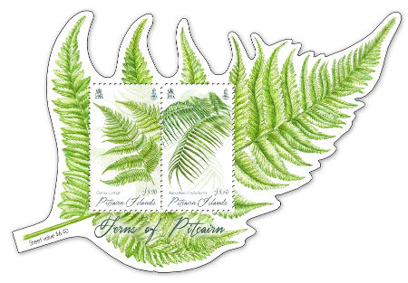 Ferns of Pitcairn mini sheet