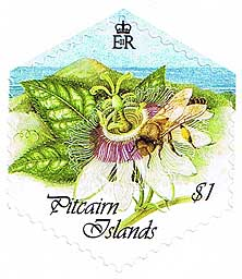 Pitcairn Island Honey Bees $1.00