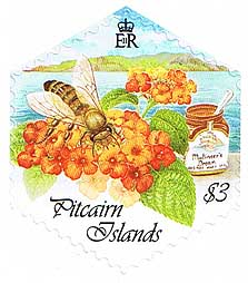 Pitcairn Island Honey Bees $3.00