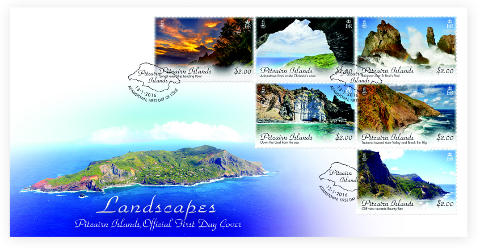 Pitcairn Landscapes FDC