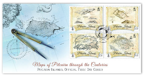 Maps through the Centuries FDC