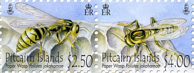 Paper Wasp stamps