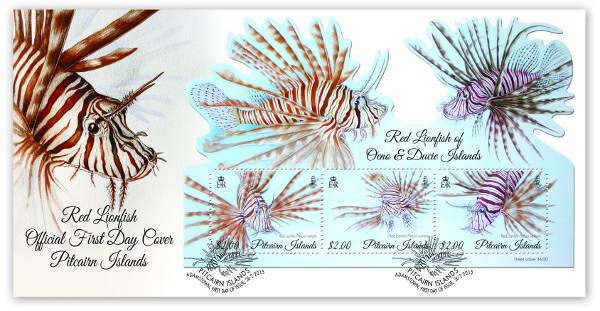 Red Lionfish FDC