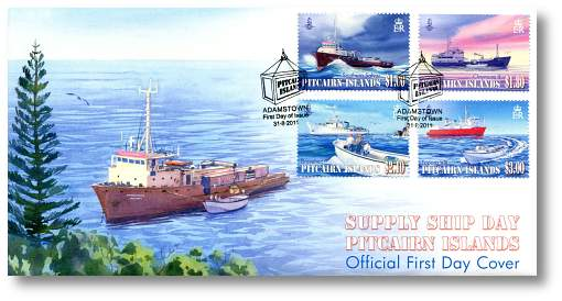 Supply Ship Day FDC